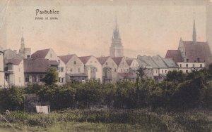 Pardubice Czech Republic Old Postcard