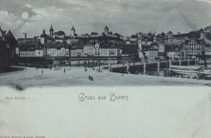 LOCARNO, Switzerland, 1900-1910's; Ricordo Di Locarno