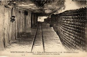 CPA  Montrichard (Touraine) - Caves de Champagnisation J.-M. Monmosseau (741070)