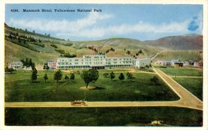 WY - Yellowstone National Park. Mammoth Hotel