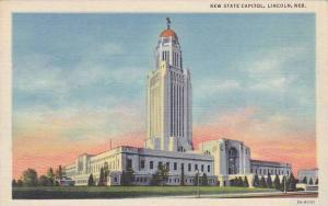 Nebraska Lincoln New State Capitol1949
