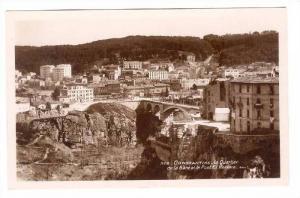 RP  constantine, Algeria, 1910-30s Le Quartier de la Gare elle Pont El Kantara
