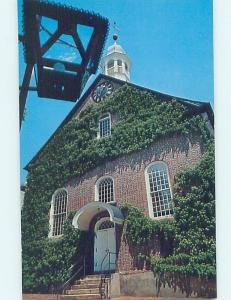 Pre-1980 CHURCH SCENE Winston-Salem North Carolina NC AD1654