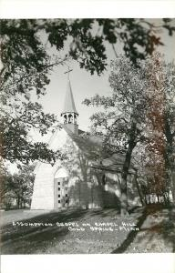 Cold Spring Minnesota~Assumption Chapel in the Shade @ Chapel Hill~1950s RPPC