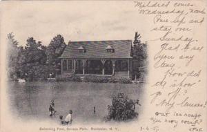 New York Rochester Swimming Pool In Seneca Park 1907