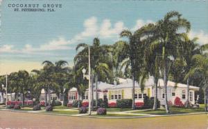 Florida St Petersburg Cocoanut Grove Motor Hotel