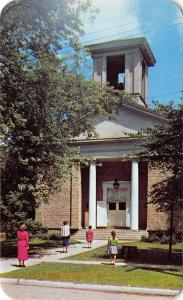 Rockton Illinois~Ladies and Young Girls @ First Congregational Church~1950s PC