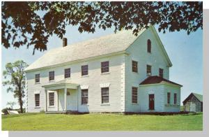 Upper Woodstock, N. B./NB, Canada Postcard, Old Courthouse