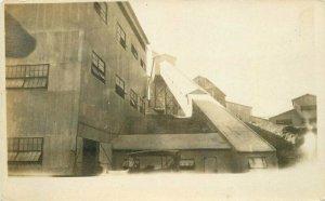 Coal Ore Chutes 1920s Mining Industry RPPC Photo Postcard 6226