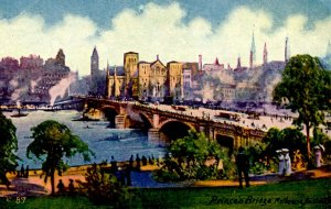 Australia - Melbourne. Prince's Bridge