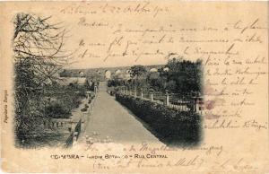 CPA Coimbra- Jardim Botanico, Rua Central, PORTUGAL (760779)