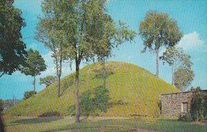 The Grave Creek Mound Moundsville West Virginia