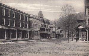 P1787  1910 main street from depot, roscoe new york