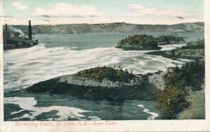 Reversing Falls at Low Tide - St John NB, New Brunswick, Canada - pm 1906