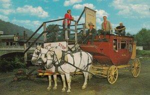 CASS, West Virginia, 1940-60s; T.L.T. Stagecoach Line