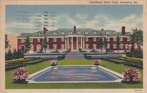 Spindletop Stock Farm Lexington Kentucky 1958