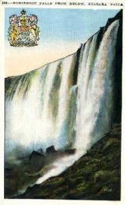 Horseshoe Falls  Niagara Falls NY 1936
