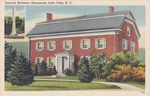 New York Little Falls General Herkimer Homestead