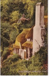 ​Post Card Somerset SELWORTHY Corna Cottages