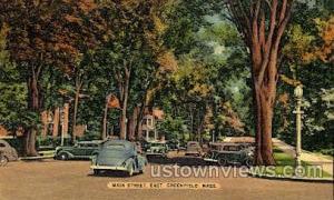 Main St. Greenfield MA Unused
