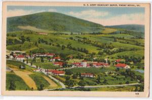 Army Remount Depot, Fort Royal VA