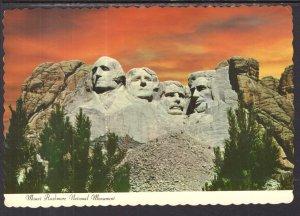 Mount Rushmore,Black Hills,SD BIN