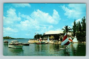 Paget- Bermuda, Glencoe Resort, Advertising, Chrome c1967Postcard