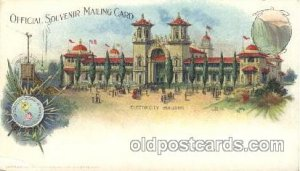 Electricity Building 1901 Pan American Buffalo, New York, USA Exposition, Pos...
