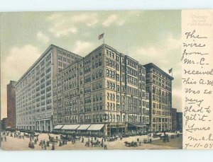 Pre-1907 MARSHALL FIELD COMPANY STORE Chicago Illinois IL AF3384