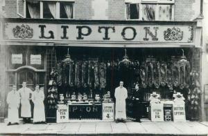 Lipton Provision Dealers Basingstoke modern high-quality photographic postcard