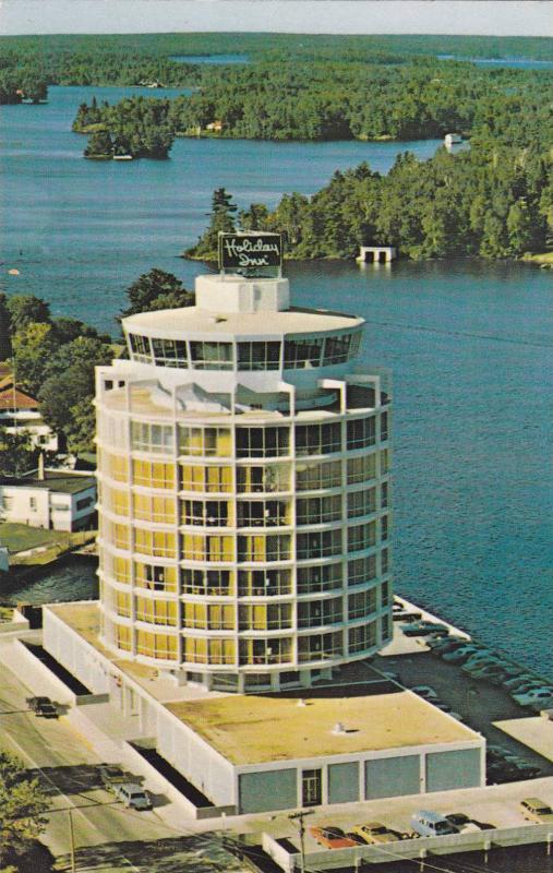 The beautiful Holiday Inn, Kenora, Ontario, Canada, 40-60s