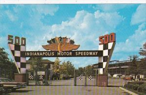 Indiana Indianapolis The Indianapolis Motor Speedway Main Gate