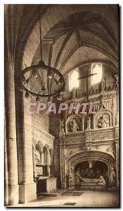 Old Postcard The Saints De Solesmes Transept Right (1496)
