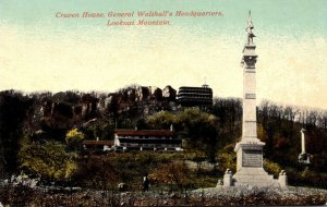 Tennessee Chattanooga Craven House General Walthall's Headquarters Looko...
