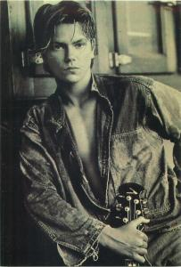 River Phoenix American actor musician and activist male model