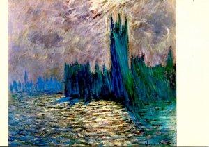 House of Parliament, London  Artist: Caude Monet