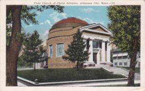Church First Church Of Christ Scientist Arkansas City Kansas