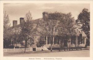 Virginia Williamsburg The Raleigh Tavern Albertype