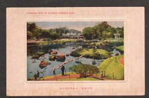 View of SUIZENJI Garden KUMAMOTO HIGO JAPAN Postcard Carte Postale