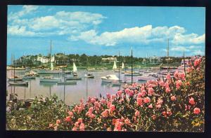 Harwichport, Massachusetts/Mass/MA Postcard, Wychmere Harbor #2, Cape Cod