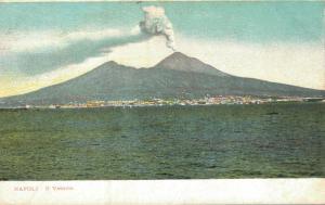 Italy Napoli Il Vesuvio 01.71