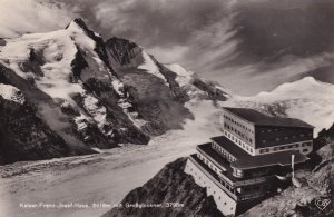 Kaiser Franz Josef Haus Mit Grobglockner AM Austria RPC Postcard