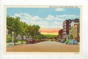 Looking South On Main Avenue, McCook, Nebraska,1930-40s