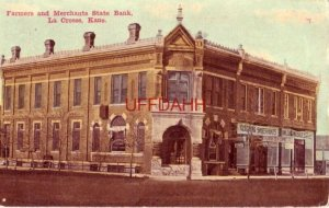 FARMERS AND MERCHANTS STATE BANK, LA CROSSE, KS. 1914