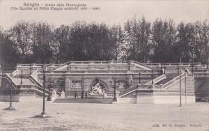 BOLOGNA, Emilia-Romagna, Italy, 1900-1910's; Scalea Della Montagnola