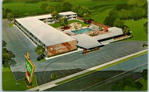 Lumberton, North Carolina Postcard HOLIDAY INN NORTH NO. 2 Route 301 Roadside