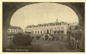 curacao, WILLEMSTAD, Governor's Palace (1950s) Postcard