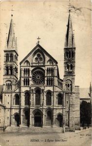 CPA REIMS L'Église St-Remi (491710)