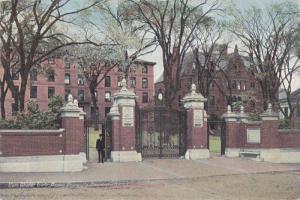 Van Wickle Gate,  Brown University,  Providence,  Rhode Island,  PU-1911