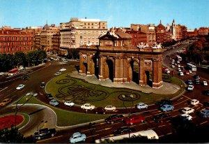 Spain Madrid Puerta de Alcala